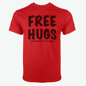 Free Hugs T Shirt Unisex Cute Free Hugs Kiss T Shirt Cotton Hugs Shirt Bff