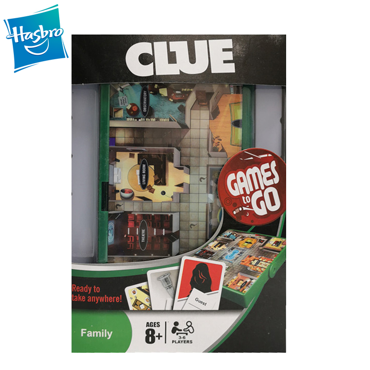 Hasbro Cluedo Game Clue Board Desk Game The Classic Family Party Games With English Version