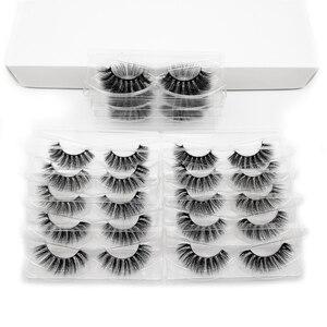 Image 3 - YSDO 30 คู่ขนตาขายส่ง Hand made Mink ขนตาปลอม 3D Mink hair ขนตาธรรมชาติแต่งหน้า 3D False eyelashes