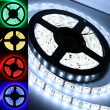 5M 5050 SMD RGB Flexible Strip LED Light Muti Color 12V 300 led Lamp RGB White Warm white Green Red Blue Lighting 3.3(China)