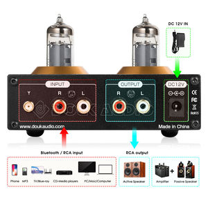Image 3 - Nobsound Mini Bluetooth 5.0 Vacuum Tube Preamp HiFi Stereo Receiver USB Player Audio Headphone Amplifier