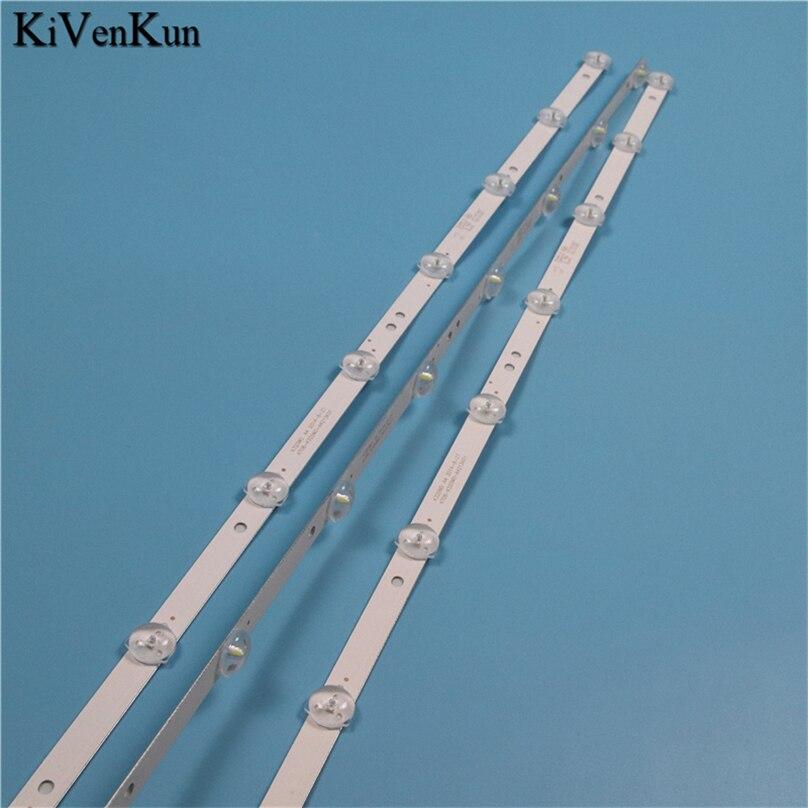 3 pçs novas lâmpadas de tv led tiras de luz de fundo para daewoo l32r630vke hd tv barras kit faixas led 4708-k320wd-a4213k01 KB-6160 k320wd réguas