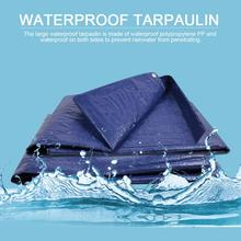 Waterproof Camping Tarpaulin Cover Outdoor Cover Cloth Rain Tarpaulin Truck Tarp Tent Heavy Duty Tarp Ground Camping 4 Sizes tatonka tarp 1