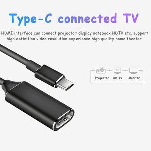 Image 5 - USB C Hub Type C Naar Hdmi Hd Tv Adapter Usb 3.1 4K Converter Voor Pc Laptop Digitale Draad staaf