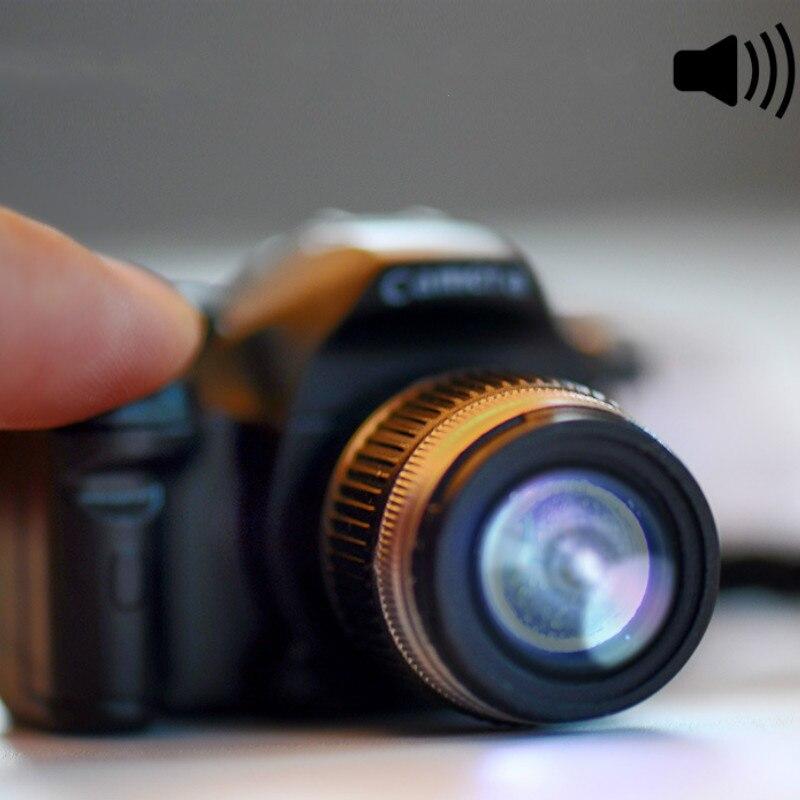 Mini Kids Camera Toy Car Key Chains Digital LED Luminous Sound Glowing Light Pendant Keychain Bag Accessories Children Toy