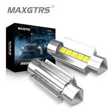 2 шт., Автомобильные светодиодные лампы C5W C10W 31/36/39/41 мм 12 В