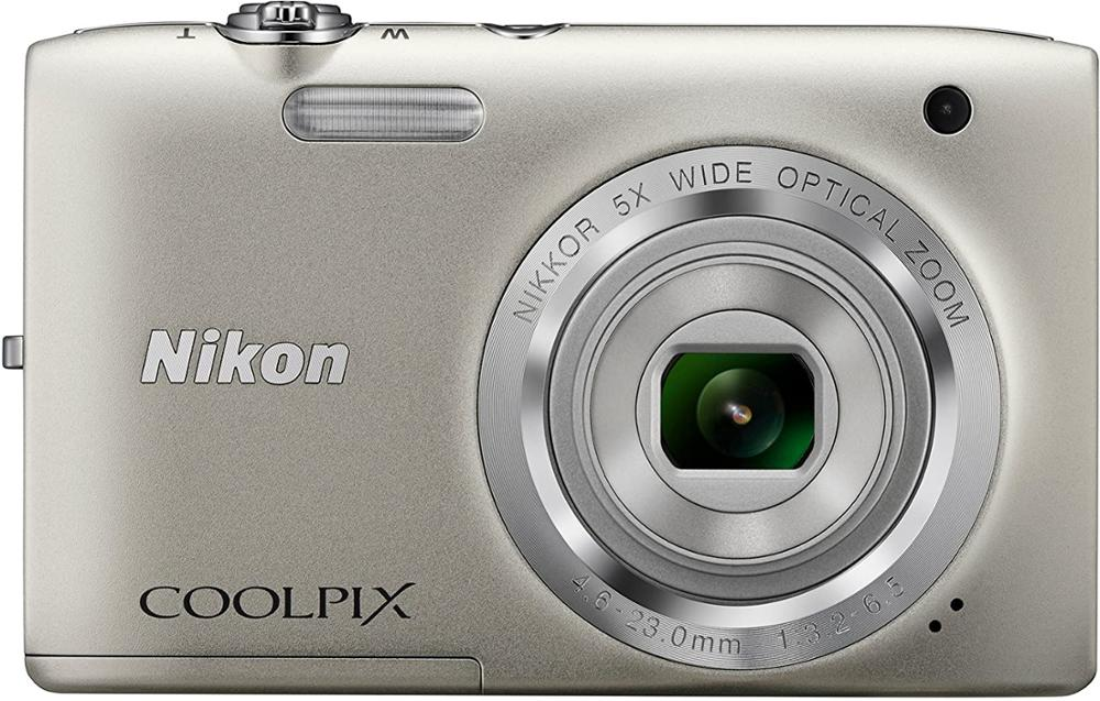 USED Nikon Coolpix S2800 20.1 MP Point & Shoot Digital Camera with 5X Optical Zoom International Version