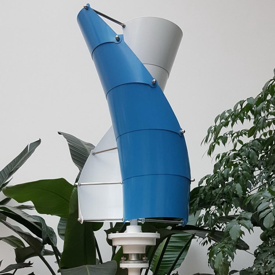 Générateur d'éolienne Maglev générateur de vent à axe Vertical 400 W haute efficacité à faible bruit 500 W 600 W moulin à vent Maglev