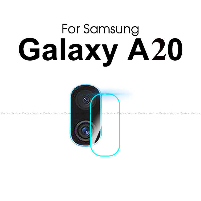 2-in-1 Tempered Glass For Samsung Galaxy A20 E A20e A202 Screen Protector and Rear Camera Len Film For Samsung a20 a 20 a205f/ds