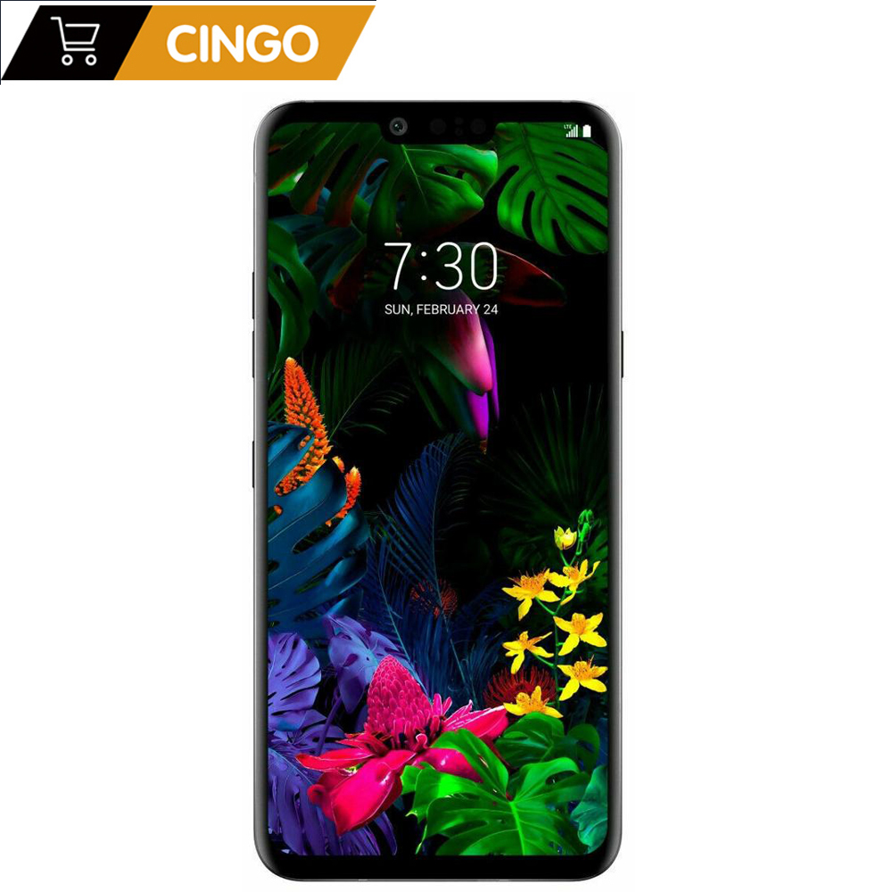 LG G8 ThinQ G820UM G820N Original Unlocked LTE Android Phone Snapdragon 855 Octa Core 6.1 6GB&128GB 16MP&12MP Fingerprint NFC image