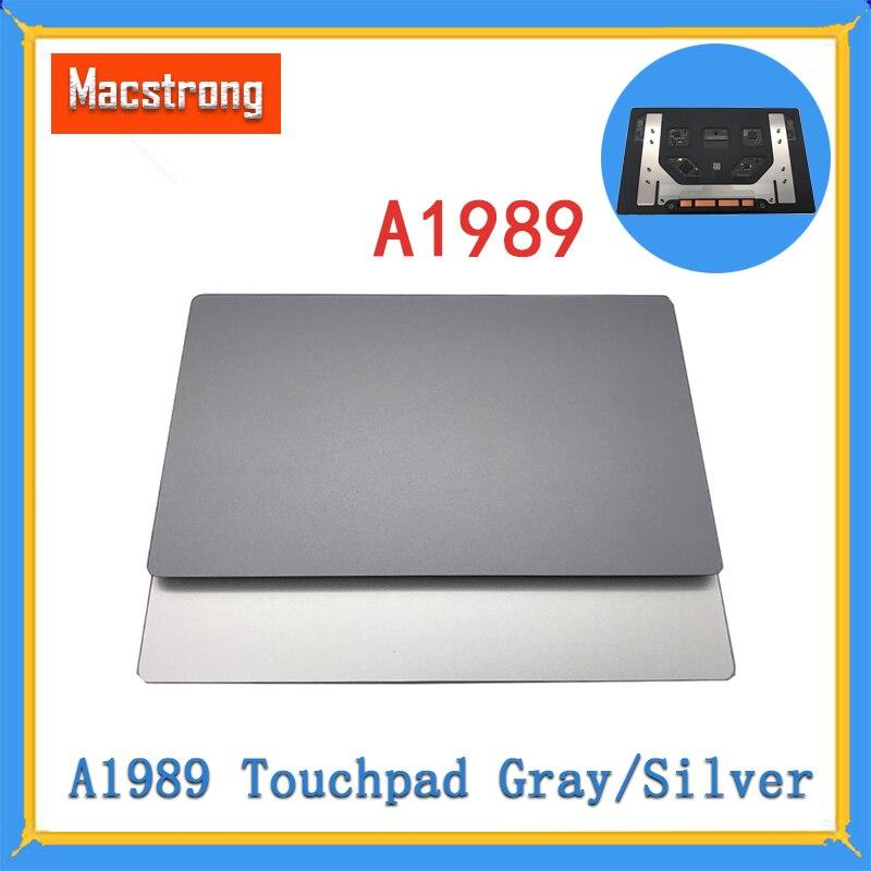 Touchpad para Macbook Novo Original Retina Trackpad Substituição Cinza – Prata 2020 15 A1989 Pro