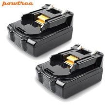Powtree 3000mah 144 v литий ионные аккумуляторы для makita bl1430
