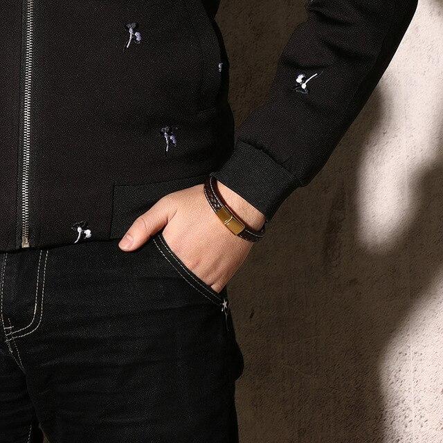 leather lover Find jewelry silver bracelet 3