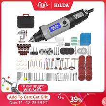 HILDA wiertarka elektryczna Mini grawer narzędzie obrotowe 400W Mini wiertarka 6 pozycja dla Dremel narzędzia obrotowe Mini szlifierka