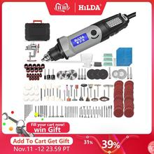 Hilda broca elétrica mini gravador ferramenta rotativa 400w mini broca 6 posição para dremel ferramentas rotativas mini máquina de moagem