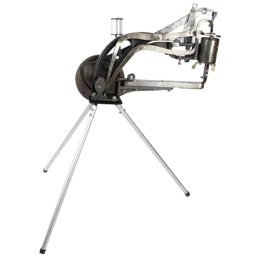 New Manual Shoe Repair Sewing Machine w//Hand Crank Wrench Cotton Thread Nylon