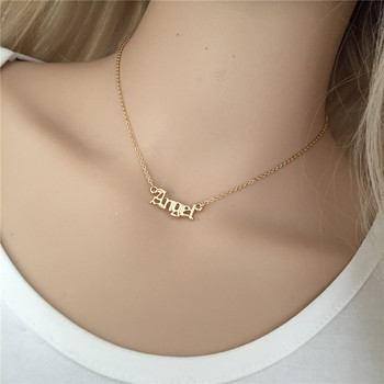High Quality 2019 New Fashion Jewelry Gold Babygirl Letter Necklace Name Pendants Lovely Gift for the Mom 5