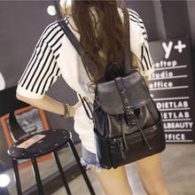 Leather Backpack for Women New Fashion Small Backpacks Ladies Shoulder Bags Teenage Grils School Bag Pack Bag 2019