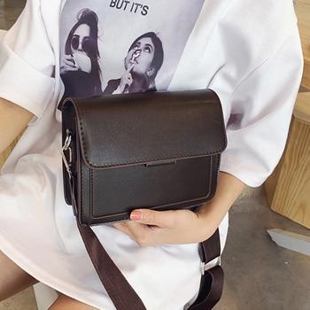 New Small Fashion Shoulder Bag Women's Handbags Leather Flap Women Messenger Casual Tote Vintage Bags Clutch Sac A Main - discount item  42% OFF Women's Handbags