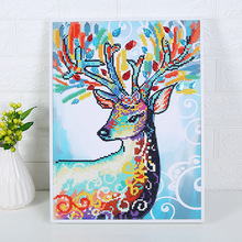 Diy 5D diamond painting primary school children stick painting puzzle embroidery living room bedroom decorative painting diy de