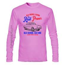 VINTAGE FRENCH CAR RENAULT DAUPHINE 1 - NEW COTTON T-SHIRT Short Sleeve Brand shirts jeans Print Classic Quality High t-shirt