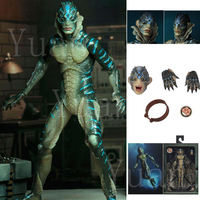 Original NECA The Shape of Water Amphibian Man Movable Action Figure Horror Halloween Model Toy Gift Doll