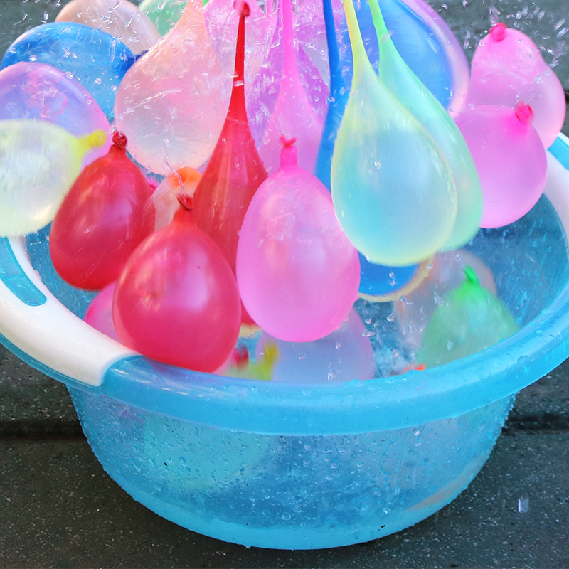 296 Pcs Funny Water Balloons Toys Magic Summer Beach Party Toys for Outdoor Beach Game