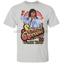 Sexual Chocolate Mr Randy Watson World Tour 88 Men T Shirt S 6Xl(1)(China)