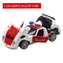 1:28 Dubai Police Toy Car Metal Toy Alloy Car Diecasts & Toy Vehicles Car Model Miniature Scale Model Car Toy For Children 1 150 scale model car toy metal alloy diecast car model miniature scale model for train layout scenery