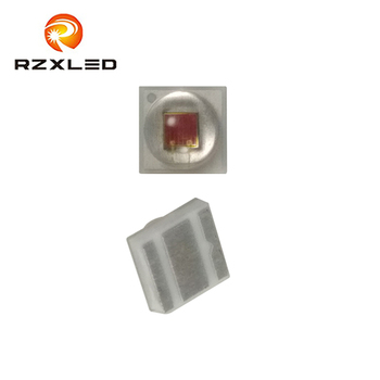 50Pcs/Lot LED1W 2W Red Yellow Blue Green Warm Natural White Diode Ceramic 2525Package Diode For GU10