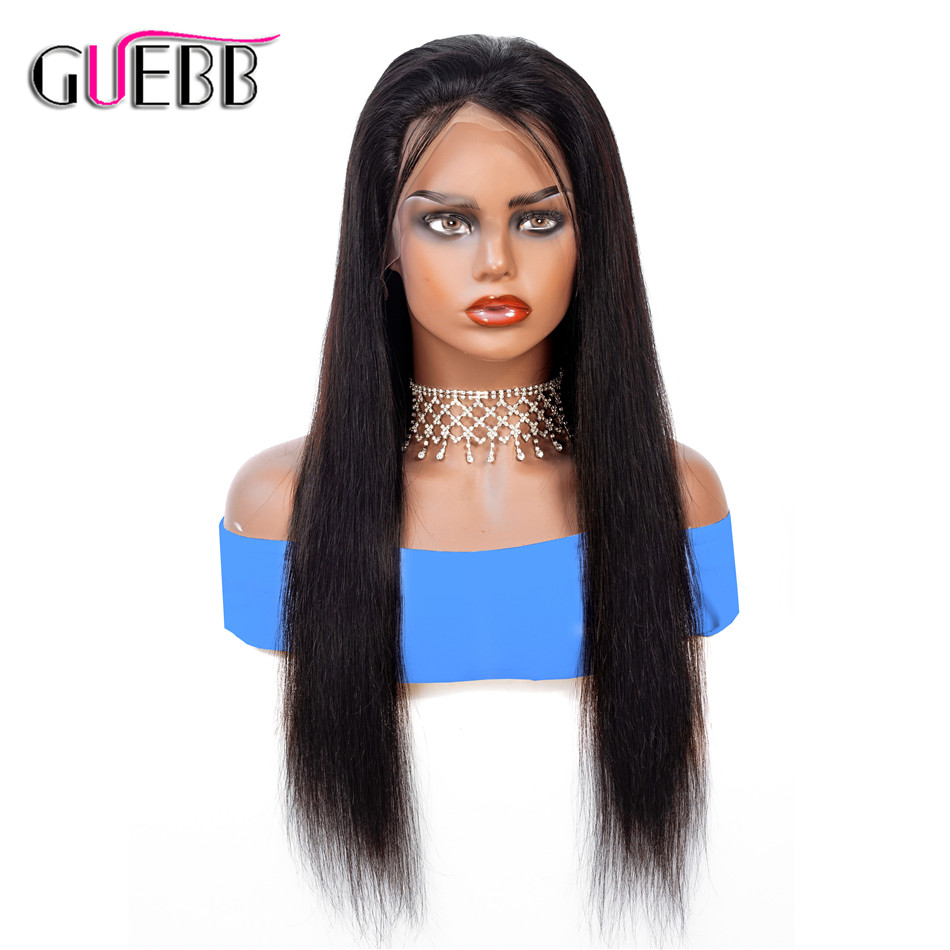 13 4 Lace Front Human Hair Wigs Pre Plucked For Women 24 26 Remy Brazilian Straight
