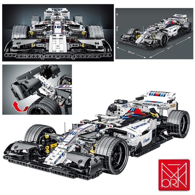 MOC 1152pcs City High-Tech Supper Racing Car Creator Model Building Blocks Bricks Toys For kids gifts 1