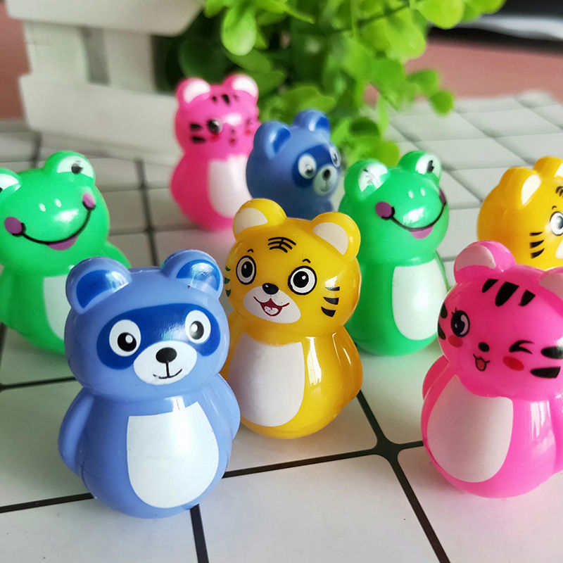 10/20Pcs Children Birthday Party Giveaways Mini Tumbler Assorted Small Toys Set Party Favors Toys For Kids Birthday Gift