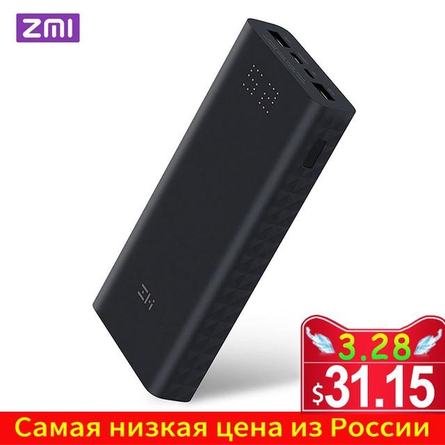 ZMI QB822/QB821 Powerbank 20000mAh 27W QC3.0 Fast Charge Dual USB 20000 mAh Power Bank for iPhone iPad Samsung Huawei