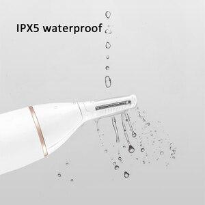 Image 3 - SOOCAS الكهربائية الأنف الشعر المتقلب ل شاومي Youpin Mini N1 المحمولة الأذن الأنف ماكينة حلاقة للشعر المقص مقاوم للماء آمنة نظافة الرجال