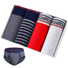 4 pçs lote marca de luxo briefs sexy calzones calson homme calcinha masculina para o homem cuecas masculino algodão gay jockstrap conjunto