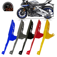 цена на For Yamaha YZF R1 R1M R1S YZF-R1 R1M/R1S 2015 2016 2017 2018 CNC Motorcycle Chain cover trim panel protective cover