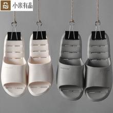 Chinelos youpin puxi 6 cores, leves, confortáveis, de banheiro, chinelos mijia, para homens e mulheres