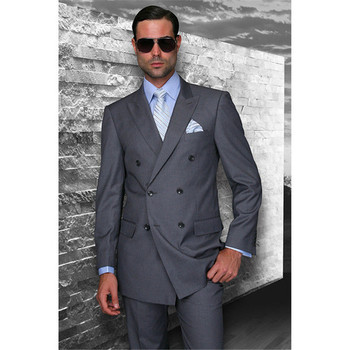 White tuxedos wedding suits for men British style custom made Mens suit slim fit Blazer Men suit 2 Piece( Jacket+Pants)