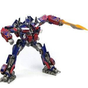 Image 3 - Com caixa de transformação wj mpm04 op optimus espadachim liga deformação crianças brinquedos figura ação robô crianças presentes