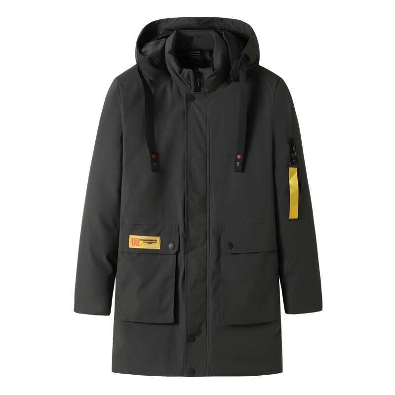 플러스 사이즈 10xl 9xl 8xl 7xl 6xl 브랜드 겨울 긴 파카 재킷 남성용 두꺼운 파카 코트 패딩 겨울 자켓 따뜻한 옷