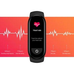 Image 3 - النسخة العالمية شاومي Mi الفرقة 6 الذكية سوار 5 اللون AMOLED شاشة Miband 6 الدم الأكسجين اللياقة البدنية تراكر بلوتوث مقاوم للماء