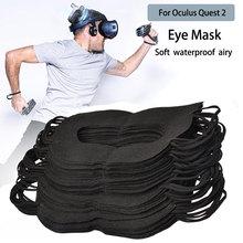 قناع العين Oculus Quest 2 VR ، حماية الوجه ، غطاء VR ، عالمي ، غير منسوج ، وسادة الوجه
