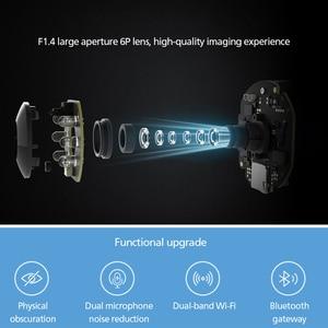 Image 5 - Xiaomi Mijia, Смарт ip камера с углом обзора 360 градусов, PTZ Pro шлюз и двойная частота, 5 ГГц, Wifi, mi Home Kit, монитор безопасности, 2020