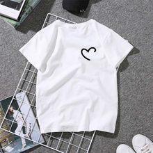 Camiseta uma col. rond despeje casais impressão vetements dete ete pour camisa coreana para mujer camisa vintage com estampado