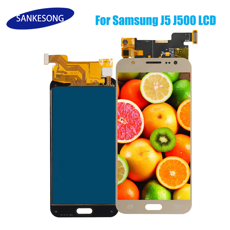 20 PCS <font><b>J5</b></font> 2015 LCD For Samsung GALAXY <font><b>J500</b></font> LCD J500F J500FN <font><b>Display</b></font> J500M J500H <font><b>Display</b></font> Touch Screen Digitizer Replacement Part image