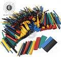 530 шт набор Полиолефиновая усадка Ассорти термоусадочная трубка провод кабель изолированный комплект трубок