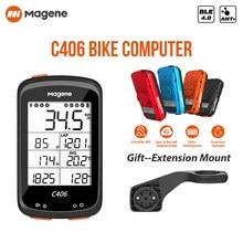 Magene C406 Bike Computer Waterproof GPS Wireless Smart Mountain Road Bicycle Monito Stopwatchring Cycling Data APP