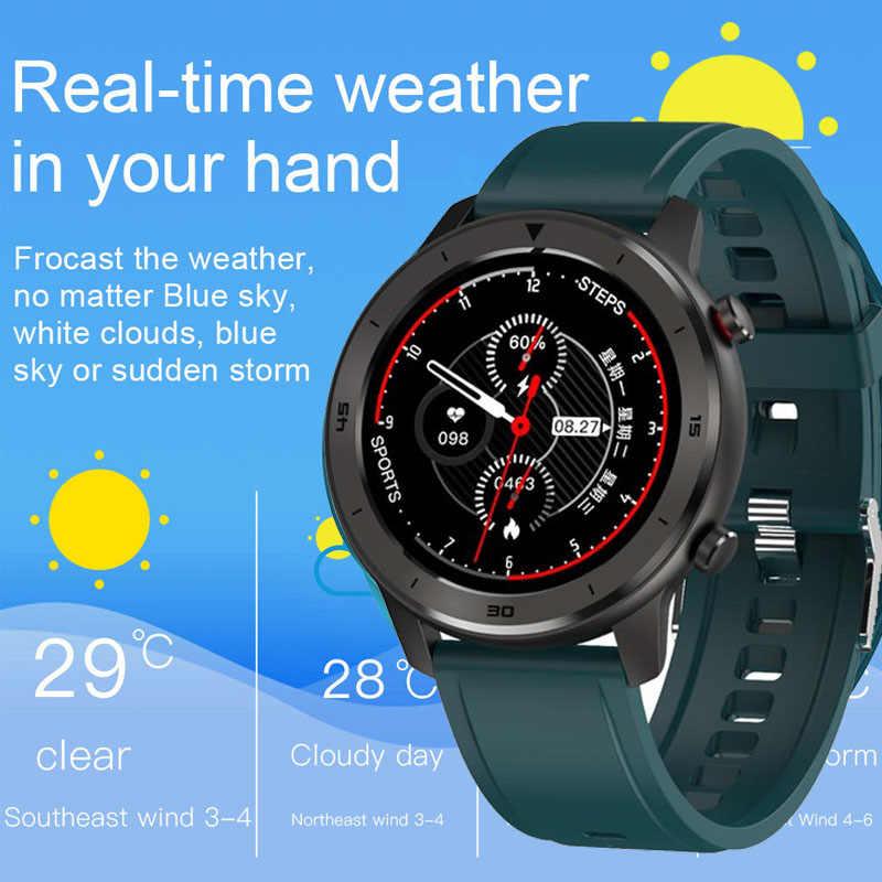 2020 DT78 Smart Horloge Mannen Full Touch Hartslag Ecg + Ei Fitness Tracker Smartwatch Vrouwen Hartslagmeter Sport horloge Reloj