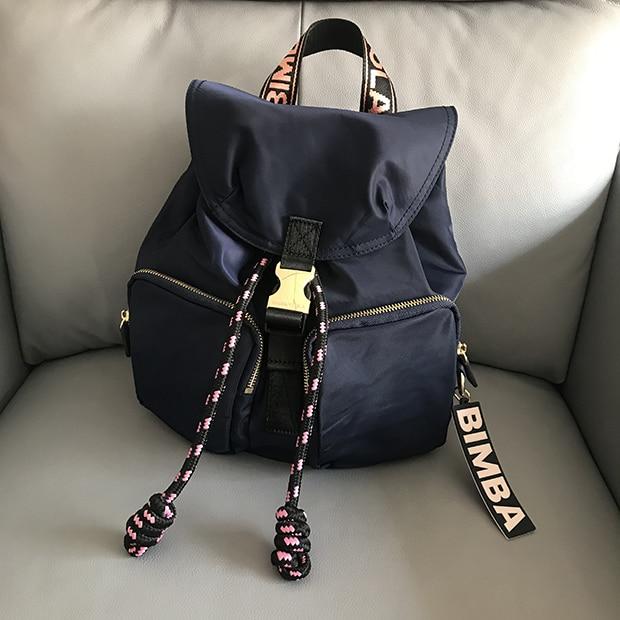 Lady Bag Brand  Bimbaylola Backpack Women Bimba Y Lola Bagpack